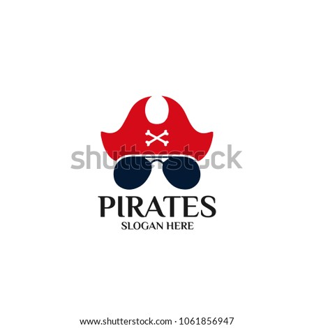 Sea Pirates logo template