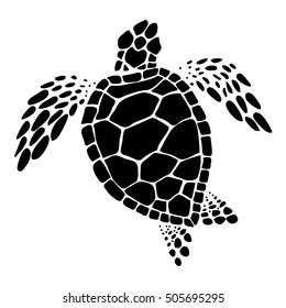 sea turtle, vector
