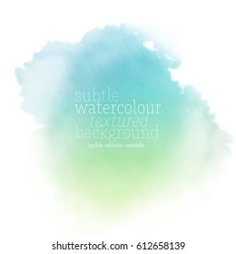 sea watercolor background