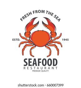 Seafood logo design