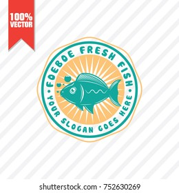 Seafood Restaurant Logo Vector