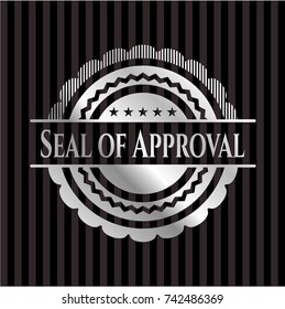 Seal of Approval silvery badge