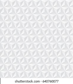 Seamless 3d Origami Pattern. Abstract Minimal cover. Geometric Texture
