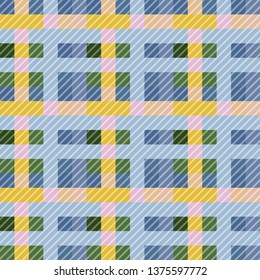 Seamless abstract background from multi-colored  squares. Background for design.