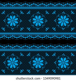Seamless abstract background with ornament from repeated patterns