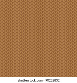 Seamless abstract brown texture - crosses background