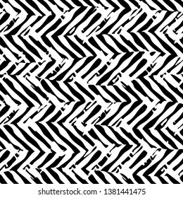 seamless abstract chevron feathers background pattern