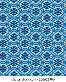 Seamless abstract geometric background. Background with oriental ornaments. Moroccan style.