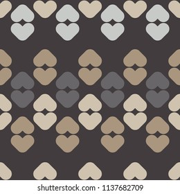 Seamless abstract geometric pattern. Mosaic texture. Textile rapport.