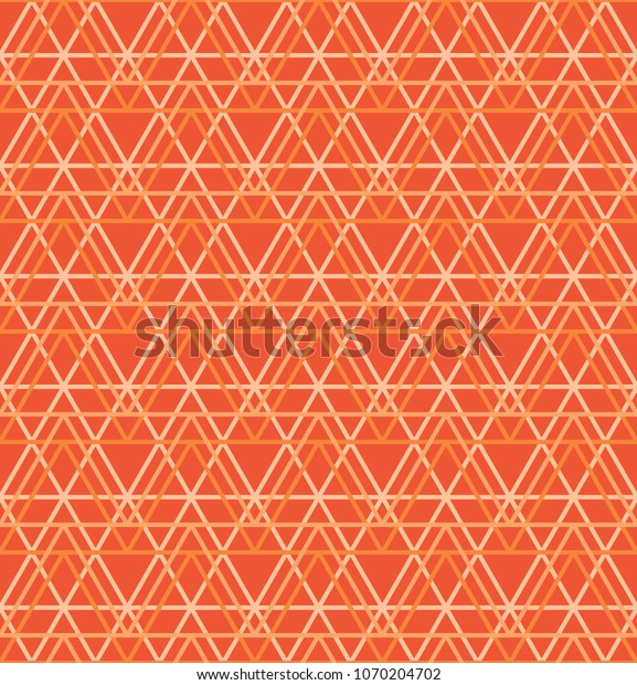seamless abstract geometric pattern orange 600w 1070204702
