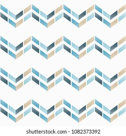 Seamless abstract geometric pattern. Texture of stripes and zigzag. Scribble texture. Textile rapport.