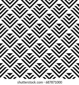 Seamless abstract geometric patterns