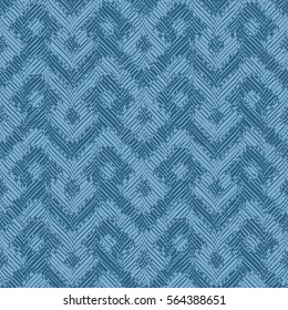 Seamless abstract geometric saddle pattern background tile