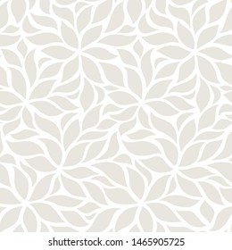 seamless abstract greyl and white floral background