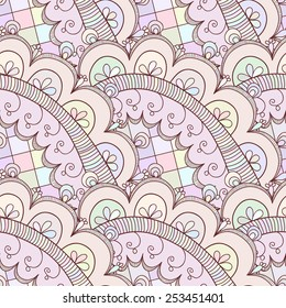 Seamless abstract hand-drawn texture, backdrop. Seamless pattern can be used for wallpaper, pattern fills, web page background, surface textures. Detailed seamless background