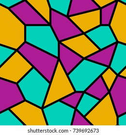 Seamless abstract mosaic pattern background.