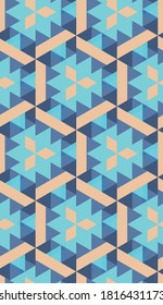 Seamless abstract pattern. Graphic modern ornament for presentations, posters, fabrics.