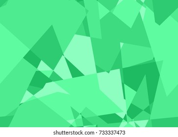 Seamless abstract pattern in green from the Flat UI palette