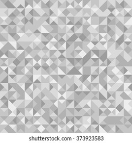 Seamless Abstract pattern: monochrome light silver background with Holographic effect.  Vector illustration.