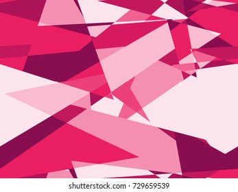 Seamless abstract pattern in Pink from the Material Design palette
