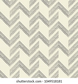 Seamless abstract pattern with zigzag stripes. Endless geometric pattern can be used for ceramic tile, wallpaper, linoleum, textile, web page background