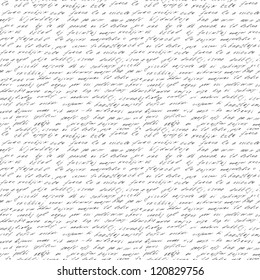 Seamless abstract text pattern