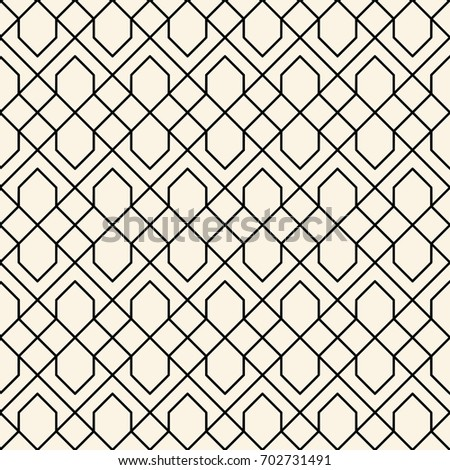 Seamless Abstract Trellis Pattern Design Vector Stock Vector Awesome Trellis Pattern