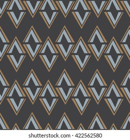 Seamless abstract vector pattern daimond tile texture background