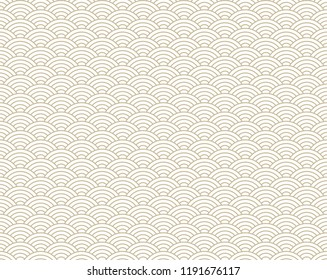 seamless abstract wave pattern-japanese pattern