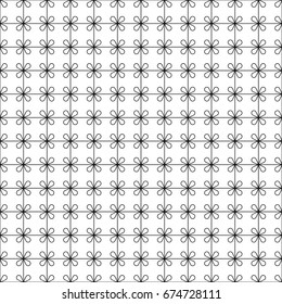 Seamless Aesthetic Geometric Pattern Abstract Minimalistic Stock