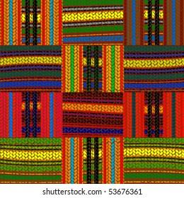 seamless african background, design illustration