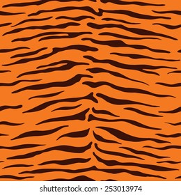 Seamless animal pattern for textile design / Vector illustration