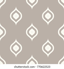 Seamless anthracite grey ogee vintage peacock textile pattern vector