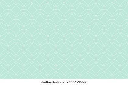Seamless art deco abstract pattern. Geometric modern background. Vector illustration.