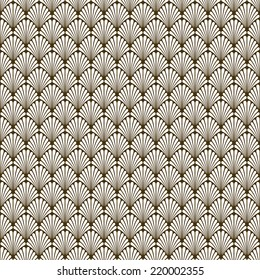 Seamless Art Deco Vector Pattern Texture