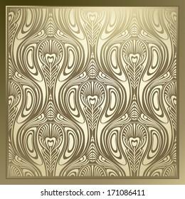 Seamless Art Nouveau