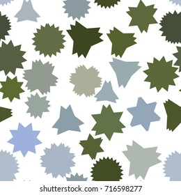 Seamless artistic star background pattern abstract. Vector illustration graphic.