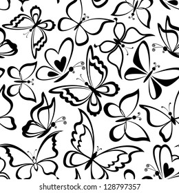 Black And White Butterfly Images Stock Photos Vectors Shutterstock