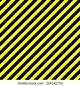 seamless background caution. diagonal pattern