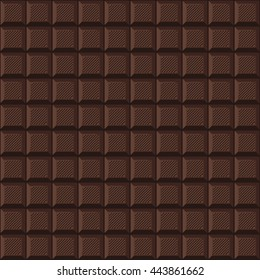 seamless background of delicious milk chocolate bar