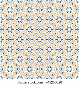 Seamless background with geometric pattern. Abstract background of geometric shapes. Geometric mosaic for tiles. Wallpaper pattern