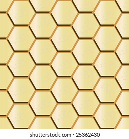 Seamless background of gold bars. Vector illustration
