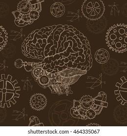 Steampunk Brain Images, Stock Photos & Vectors | Shutterstock
