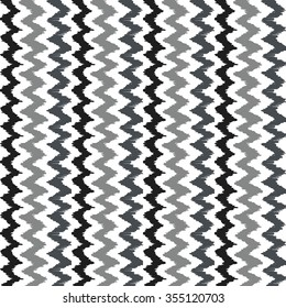 Seamless background image of hand drawn grey tone sawtooth line pattern. Background image of vintage hand drawn grey tone sawtooth line pattern.