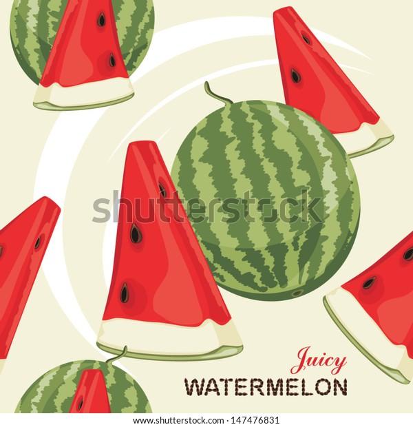 seamless-background-juicy-watermelon-vec