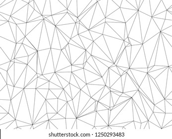 Seamless background. Modern polygonal design. Vector illustration for web design. Low poly art.