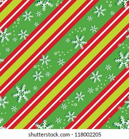 Seamless background pattern in Christmas colors, eps 10