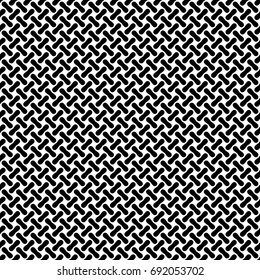 Seamless background pattern of metal or woven fiber. Vector Illustration