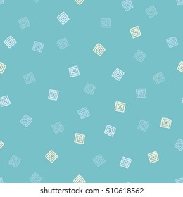 Seamless background with squares. Print. Repeating background. Cloth design, wallpaper.