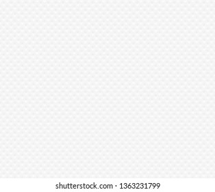 Seamless background of textured white paper napkin. Texture embossed square shape. Tissue paper web page fill pattern